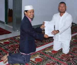 Muballigh Ahmadiyah Sindang Barang dan Walikota Bogor